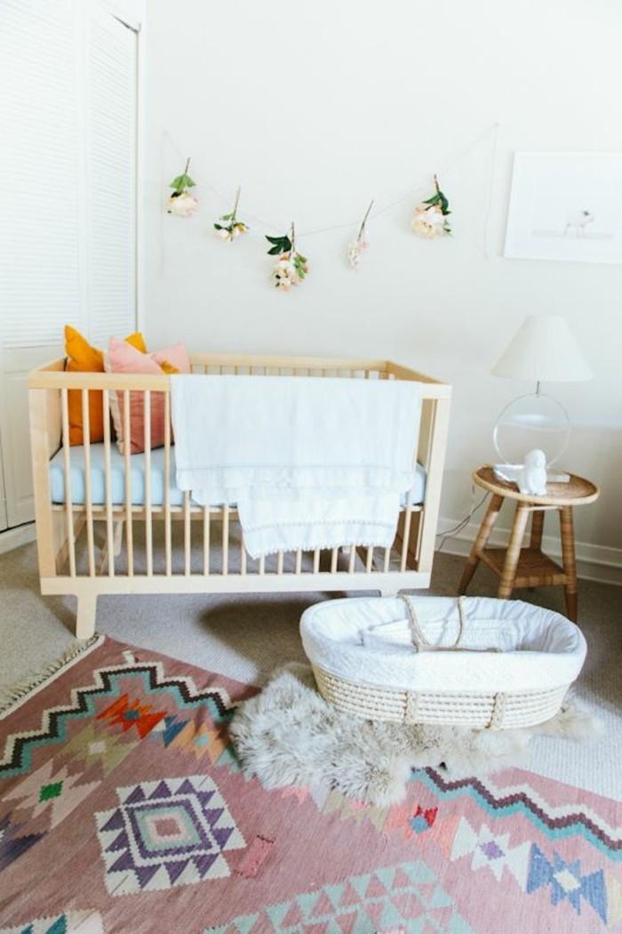 Tapis chambre bébé mixte