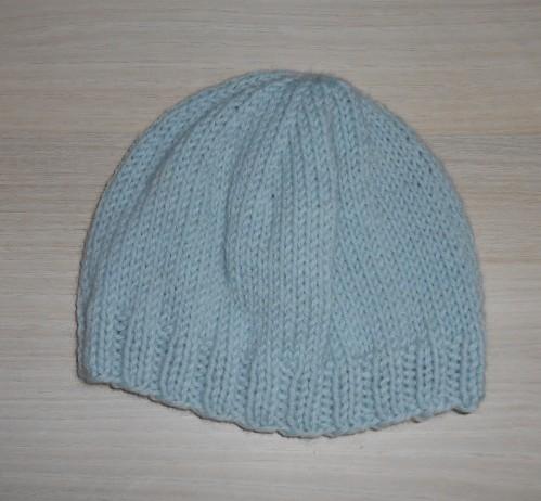 7bdbcc0d9ac4 Tricoter un bonnet bébé 3 mois - Idées de tricot gratuit