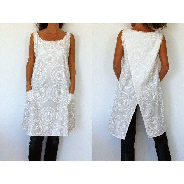 Tuto tricot tunique femme facile