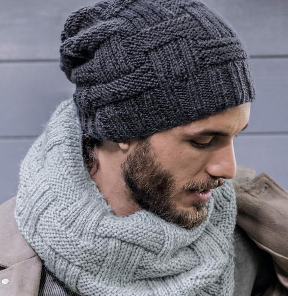 9a0d9d70aae Tricoter un bonnet d homme - Idées de tricot gratuit