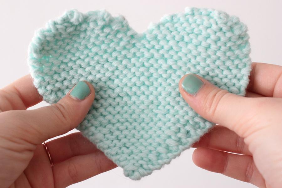 Tricoter coeur