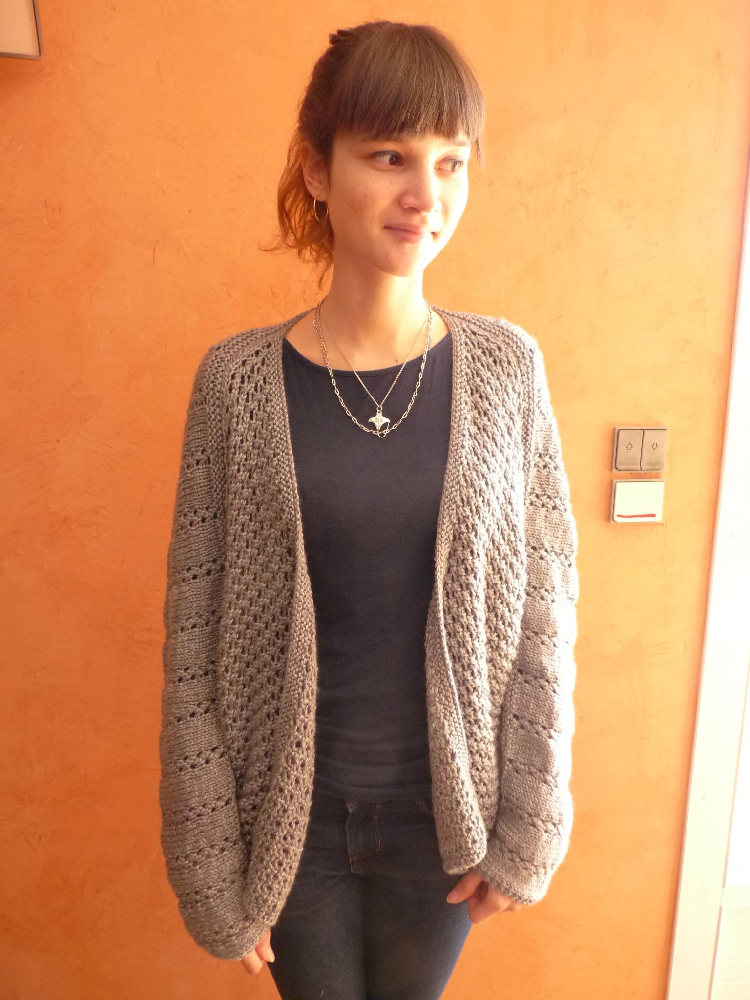 Tutoriel tricot gilet femme