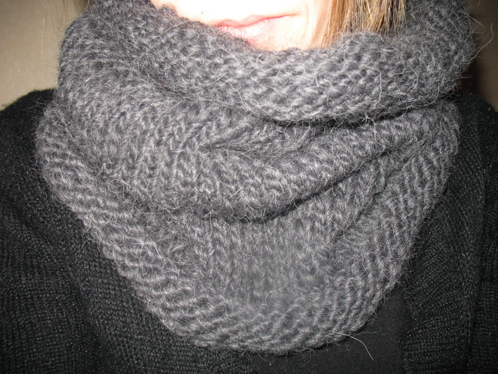 Tricoter un tour de cou - Idées de tricot gratuit 2f9a425363b