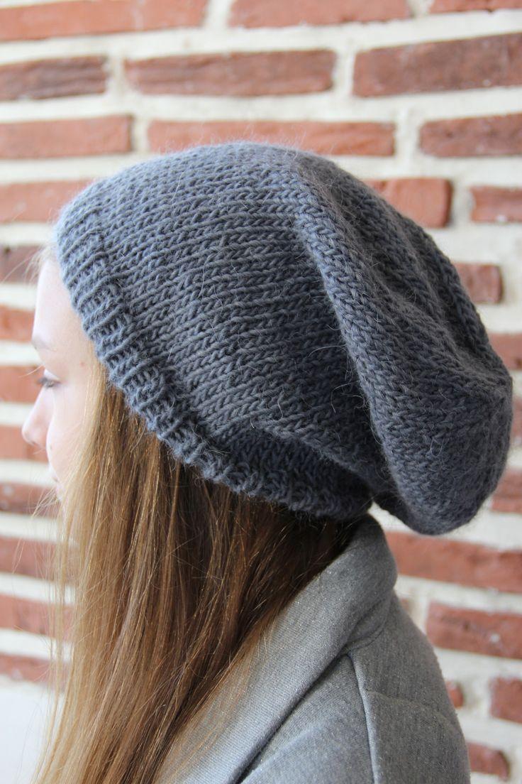 Tricot bonnet femme adulte