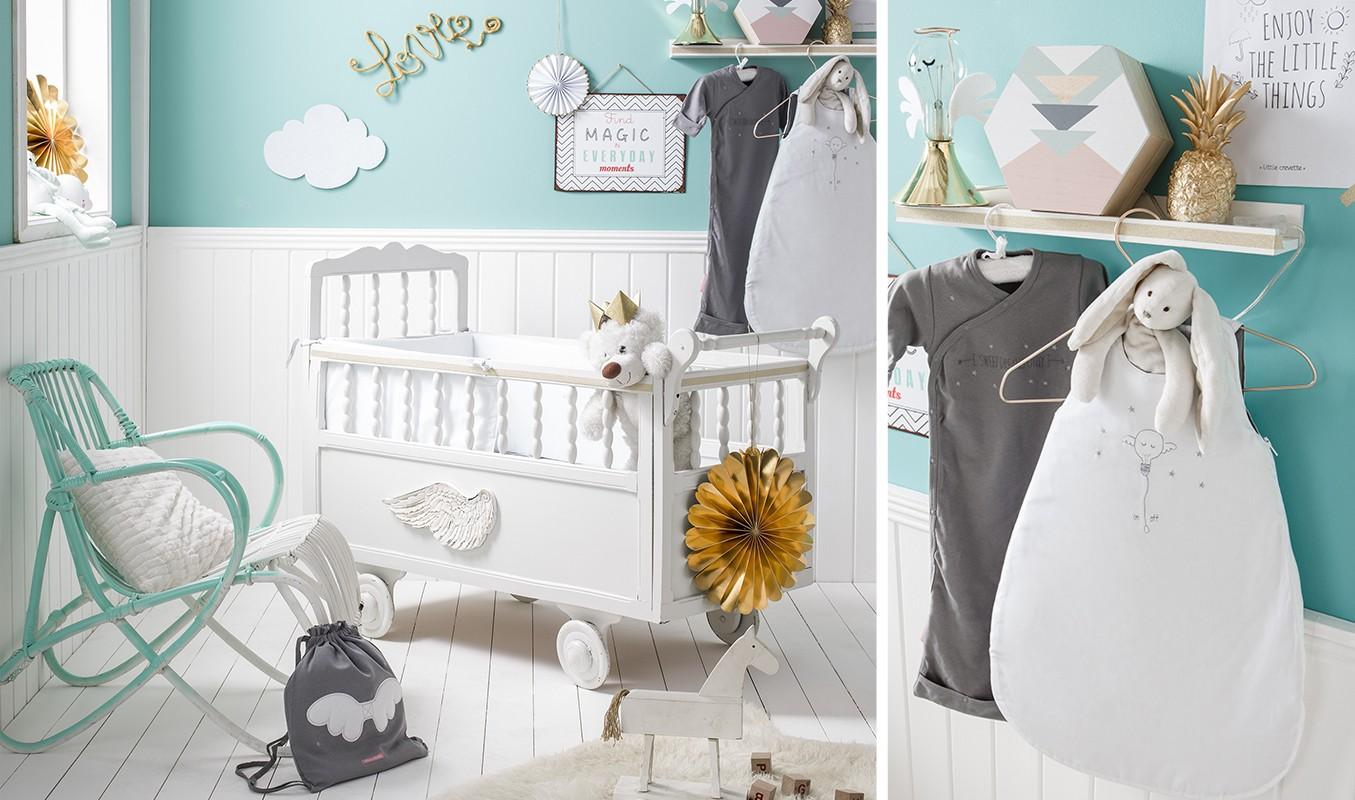 Chambre bébé mixte photo - Idées de tricot gratuit
