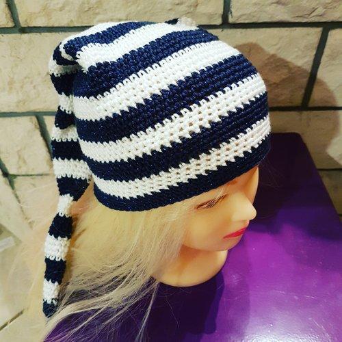 Tricoter un bonnet lutin pour adulte - Idées de tricot gratuit