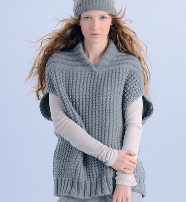 Tricot pull femme patron