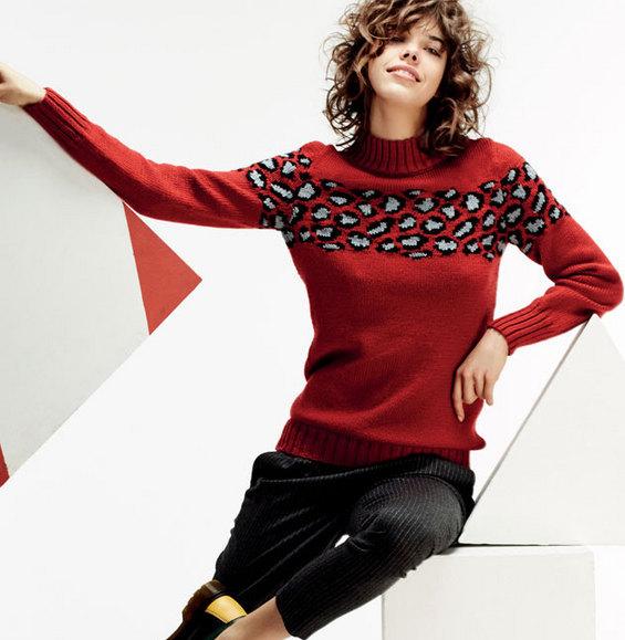 9c6143e0fec0 Tricot pull jacquard femme - Idées de tricot gratuit