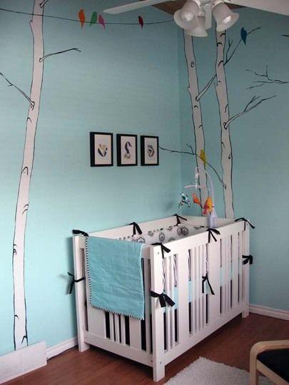 Chambre Bébé Turquoise