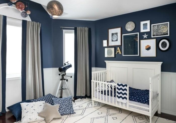 Chambre bebe bleu - Idées de tricot gratuit