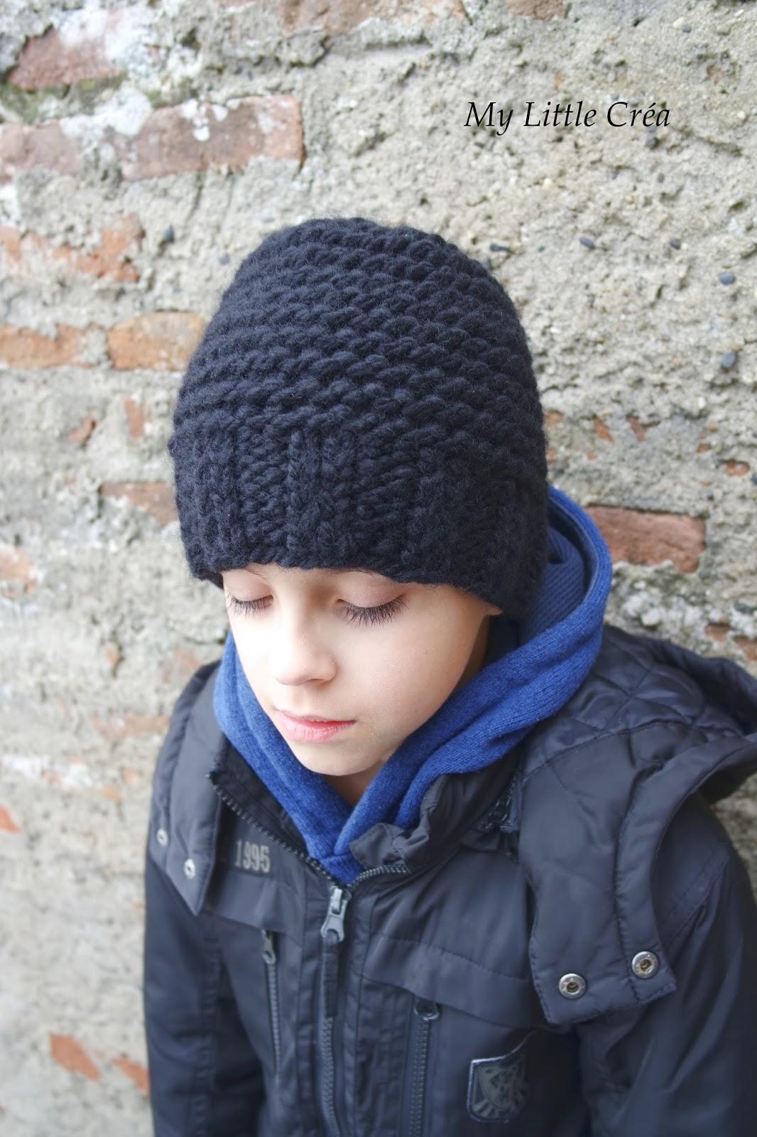 5a331a938a3a Tricot bonnet garcon facile - Idées de tricot gratuit
