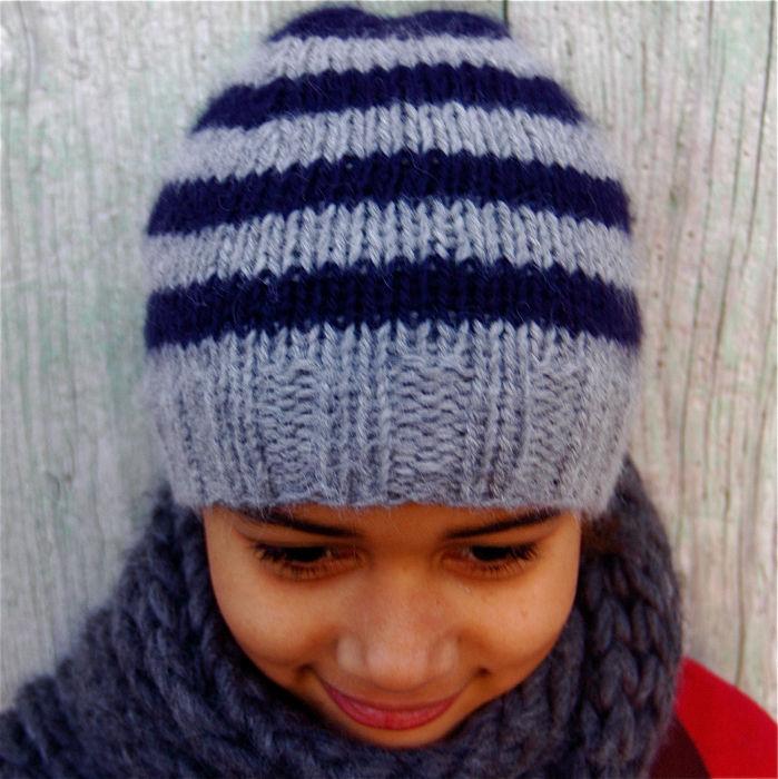 Tricoter un bonnet pour fille de 6 ans - Idées de tricot gratuit 0275908bd93