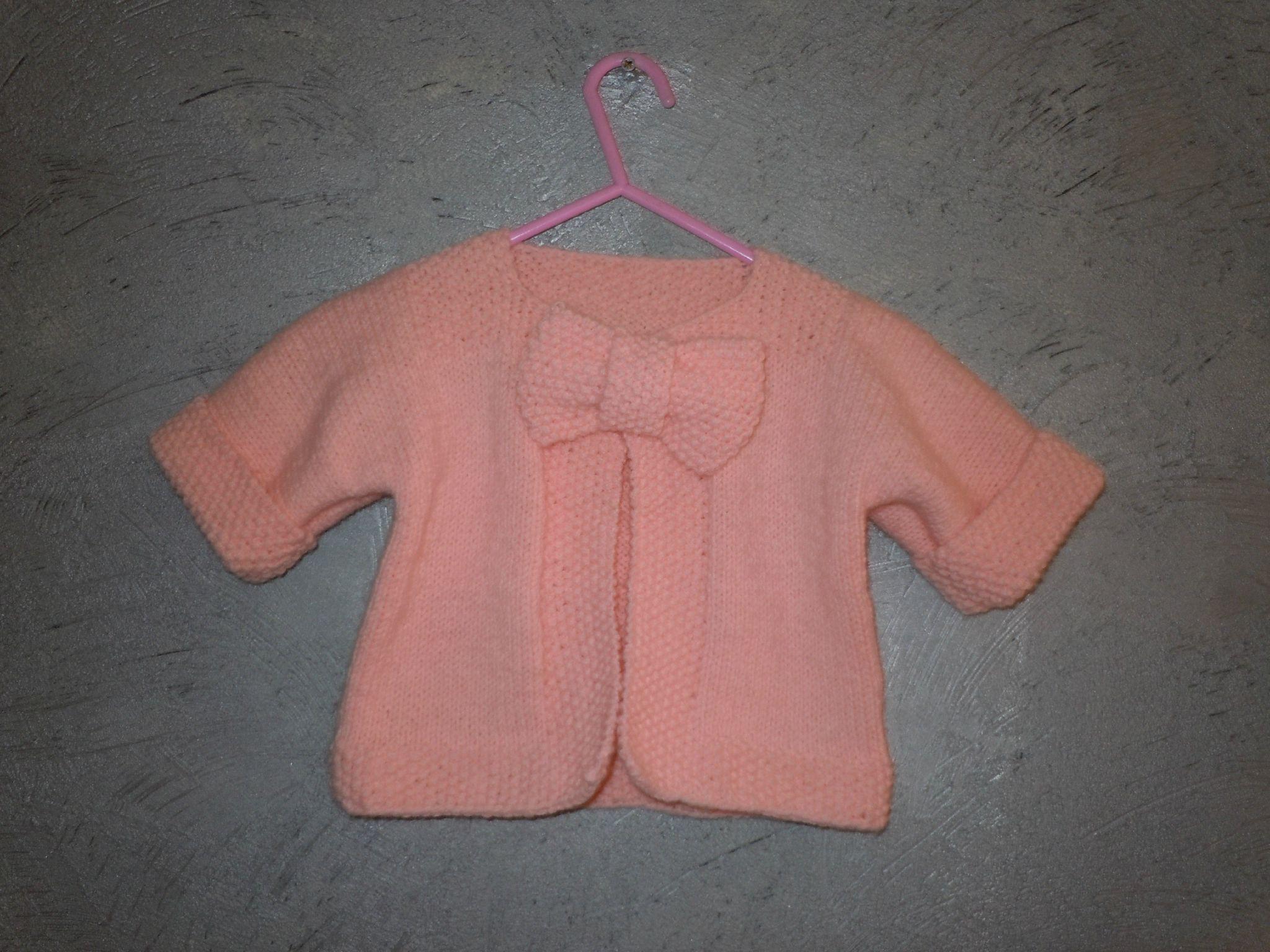 Explication modele tricot bebe gratuit