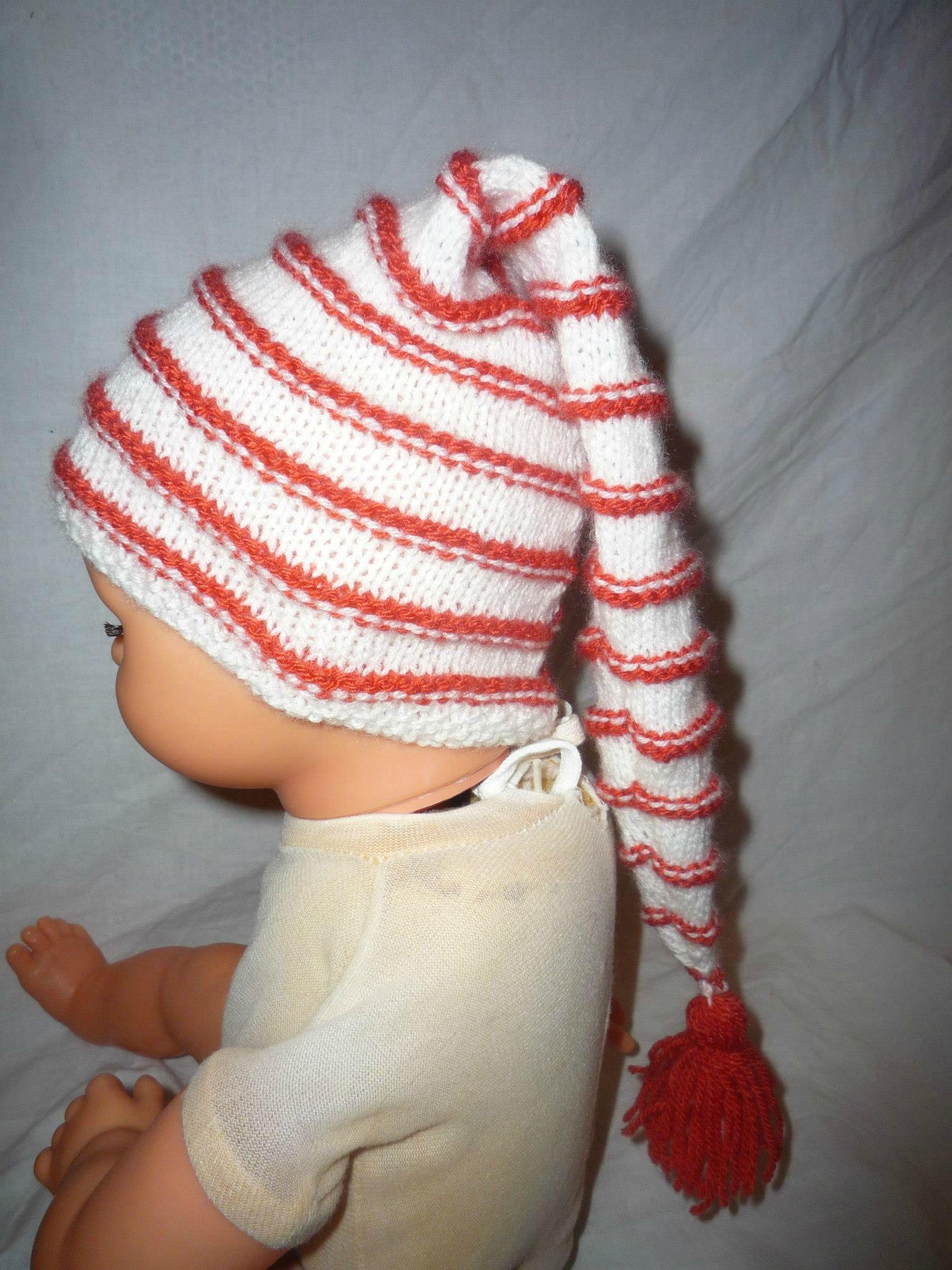 Tuto tricot bonnet bébé naissance - Idées de tricot gratuit d04e3592eb0