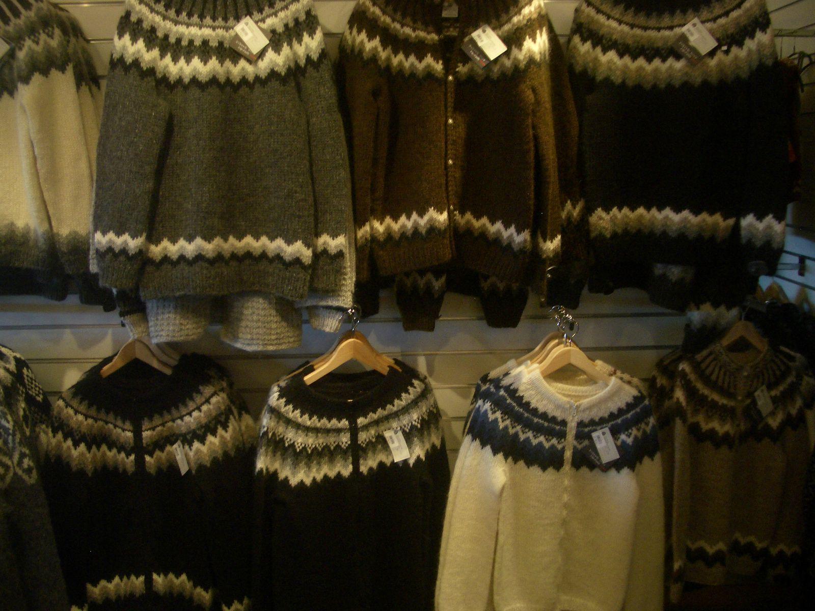 Vetements laine irlande