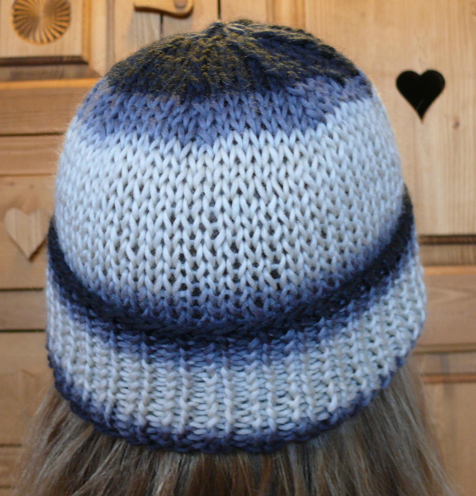 Tricoter un bonnet femme explication