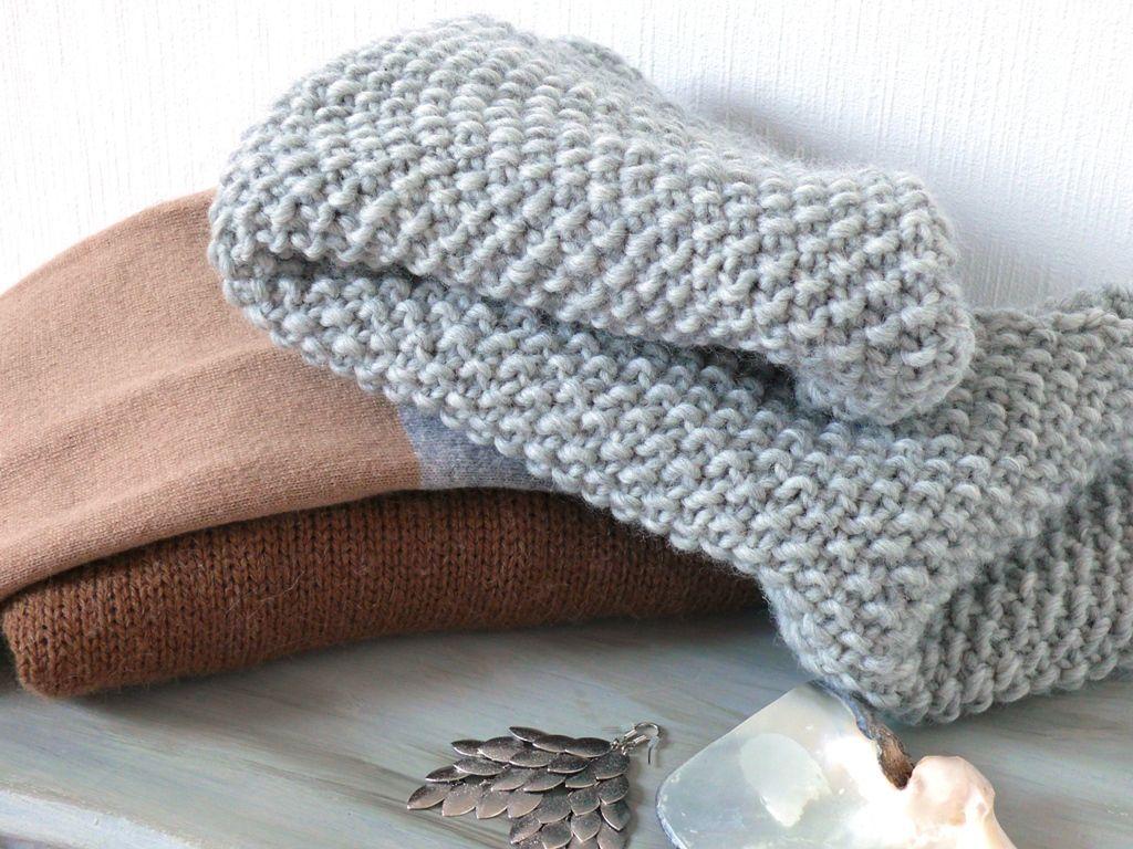 Tricoter un snood combien de laine