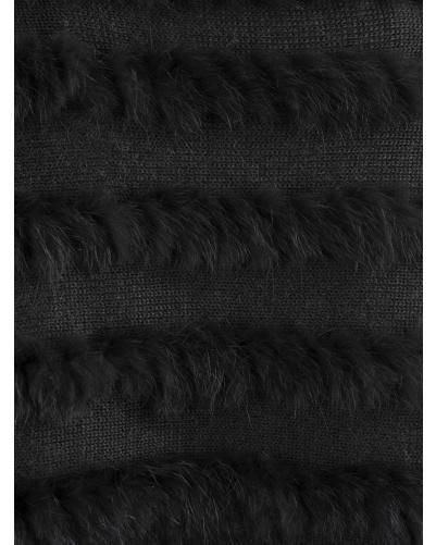 Gilet lapin tricoté oakwood