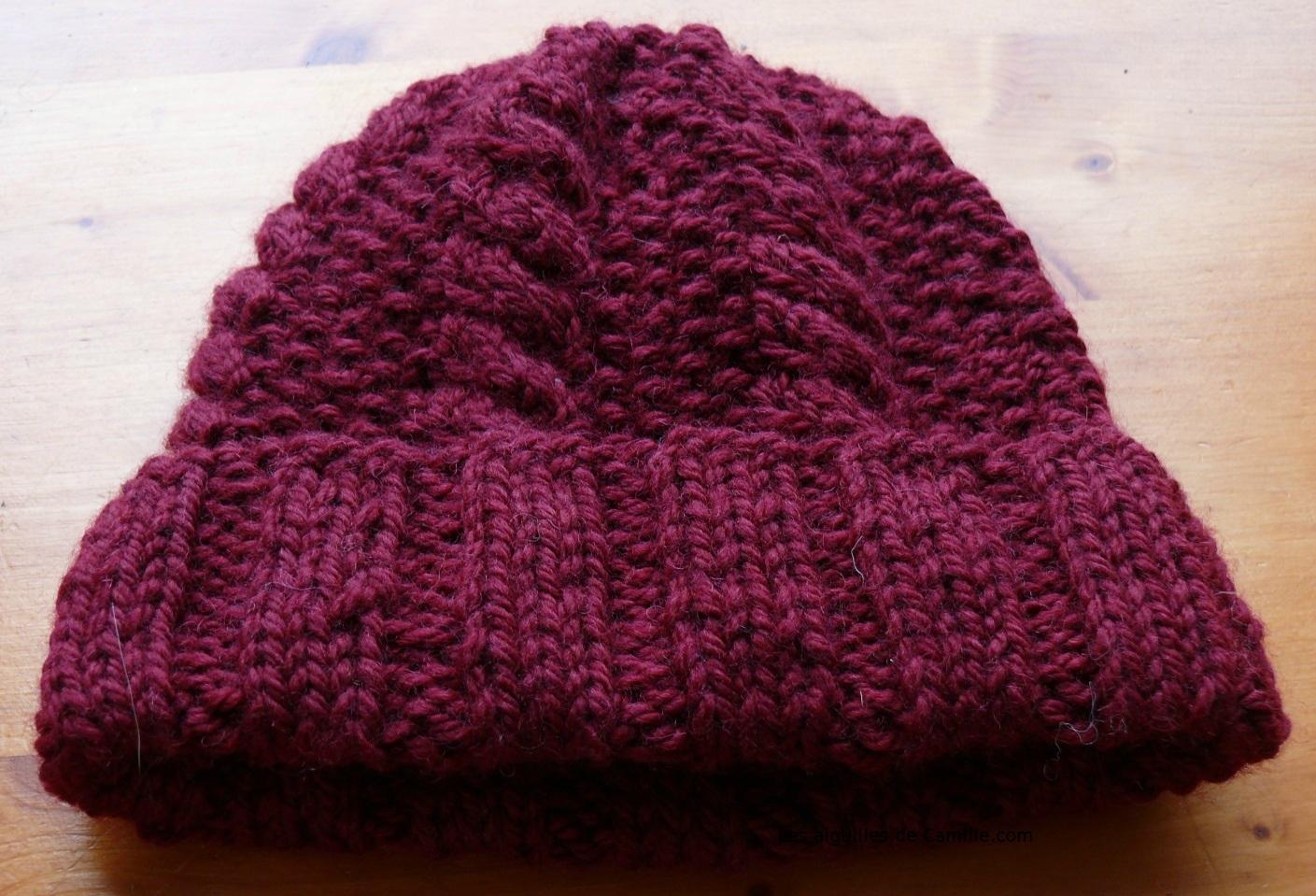 Tricoter un bonnet gratuit femme - Idées de tricot gratuit 9488424ffc0