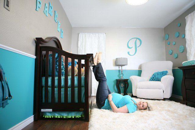 Captivant Deco Chambre Bebe Garcon Bleu Et Gris