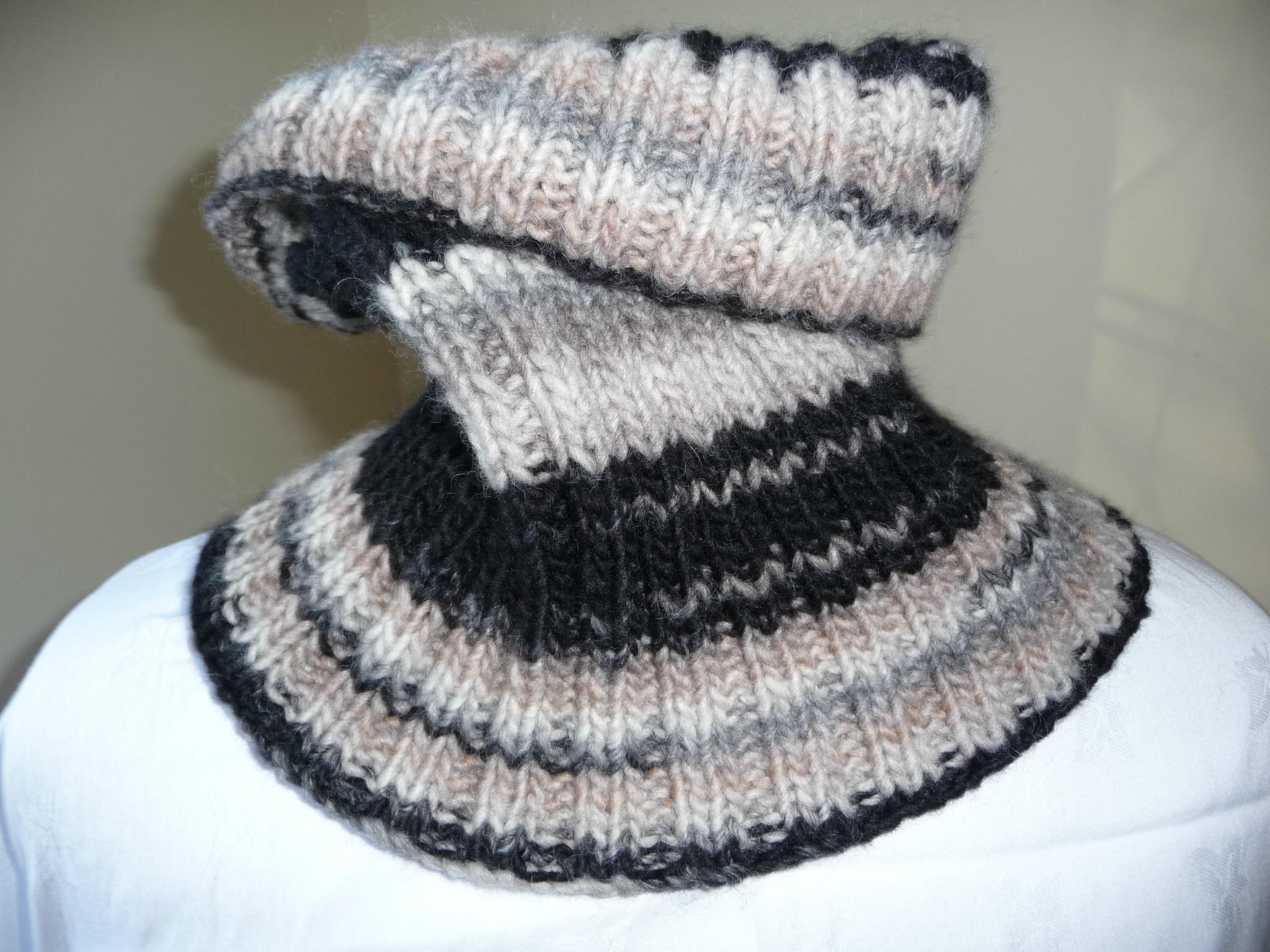 Tricoter un snood pour garçon - Idées de tricot gratuit 6e0a10f2c71