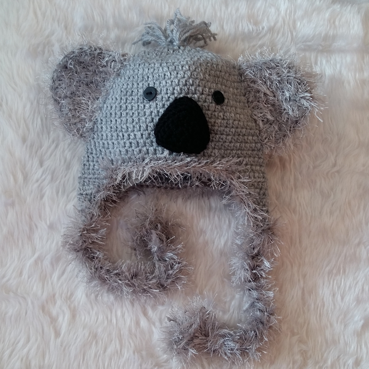 Tricot bonnet koala - Idées de tricot gratuit e669d2ee88b