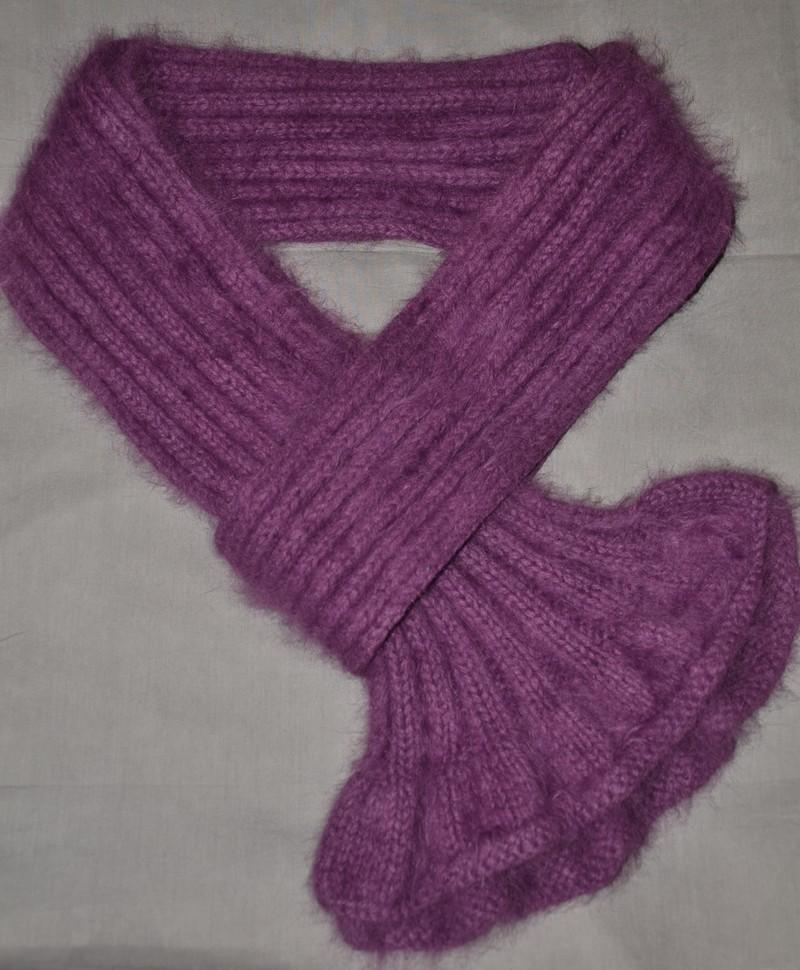 écharpe en tricot femme - Idées de tricot gratuit 34334841e2d
