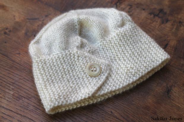 Bandeau tricot aiguilles circulaires