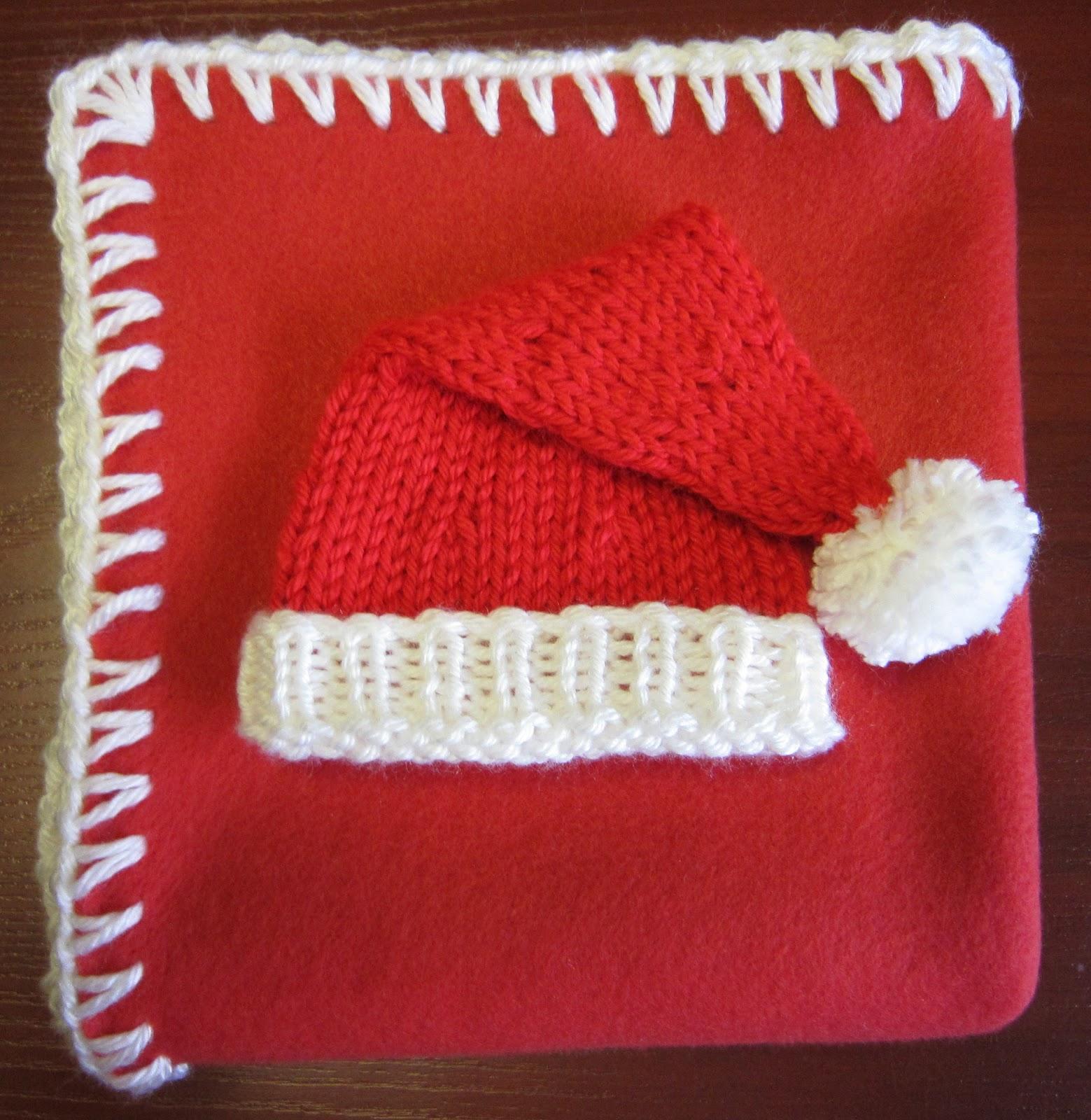 f13765fd7a9a6 Tricot bonnet noel bebe - Idées de tricot gratuit