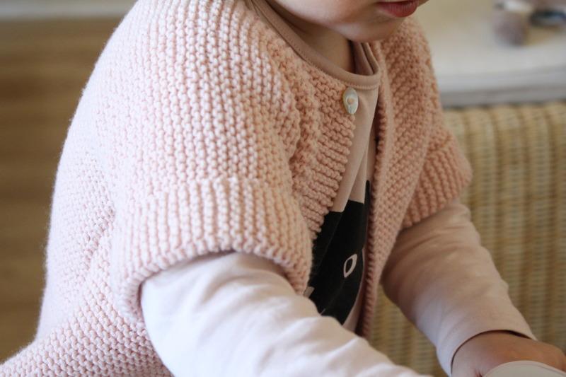 2b5a6e04052c4 Tuto gilet tricot fille 4 ans - Idées de tricot gratuit