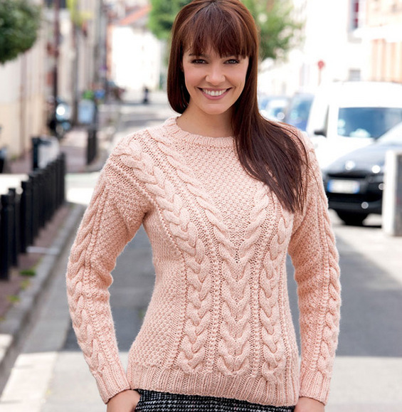 Modele pull torsade femme gratuit - Idées de tricot gratuit