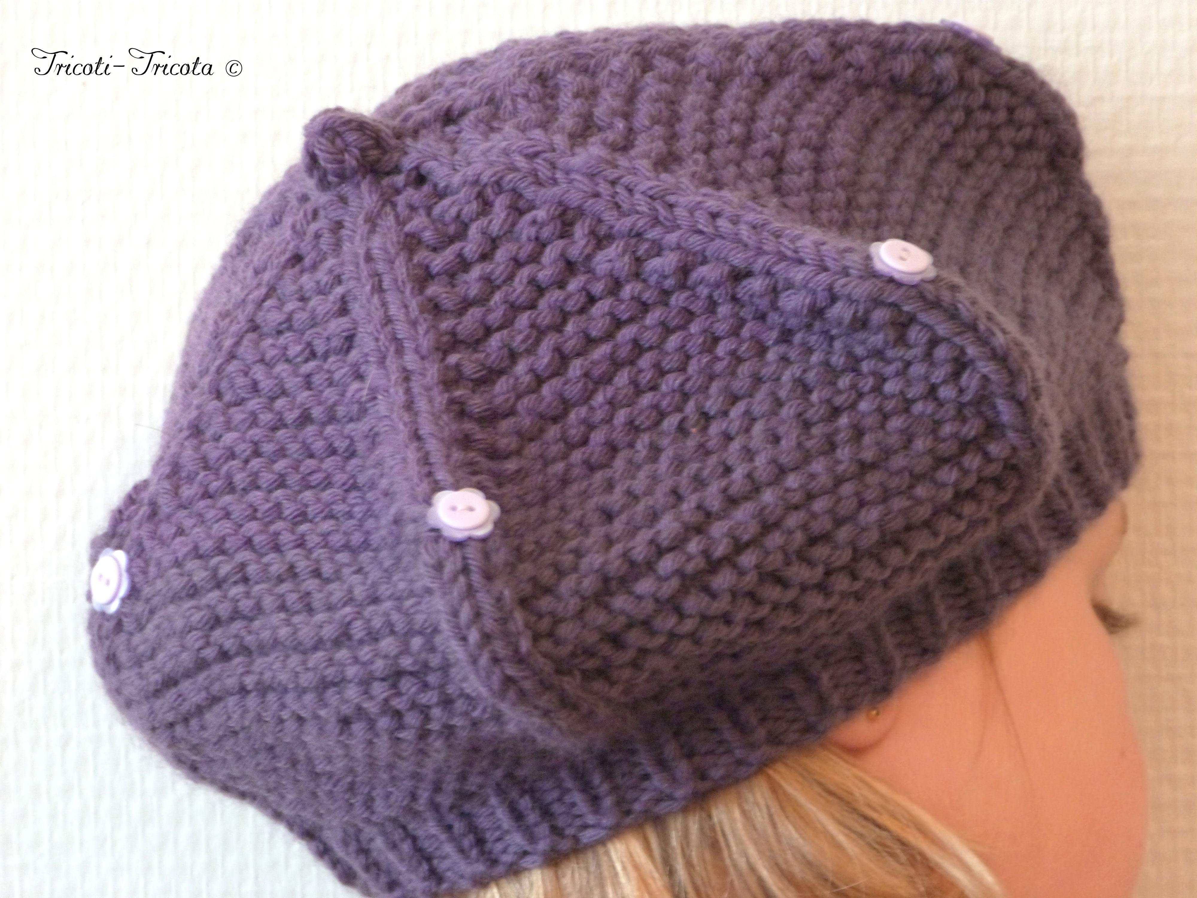 Tricot bonnet fille 8 ans - Idées de tricot gratuit 107cf9fd120