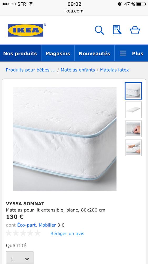 Lit Bebe Ikea Somnat Idees De Tricot Gratuit