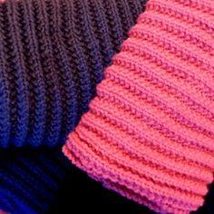 Comment tricoter un snood en jersey