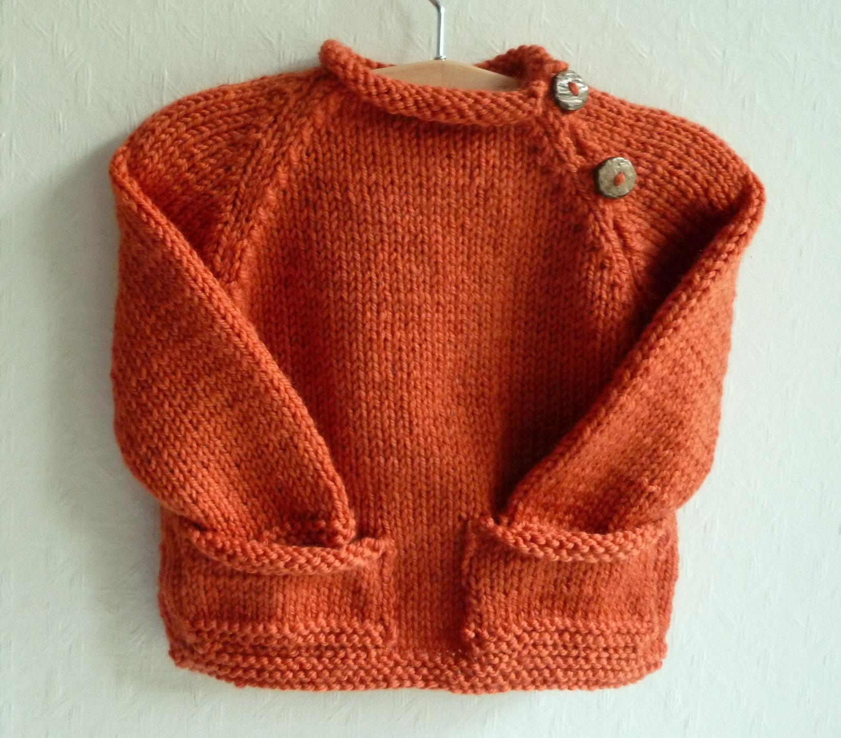Vetement en laine bebe