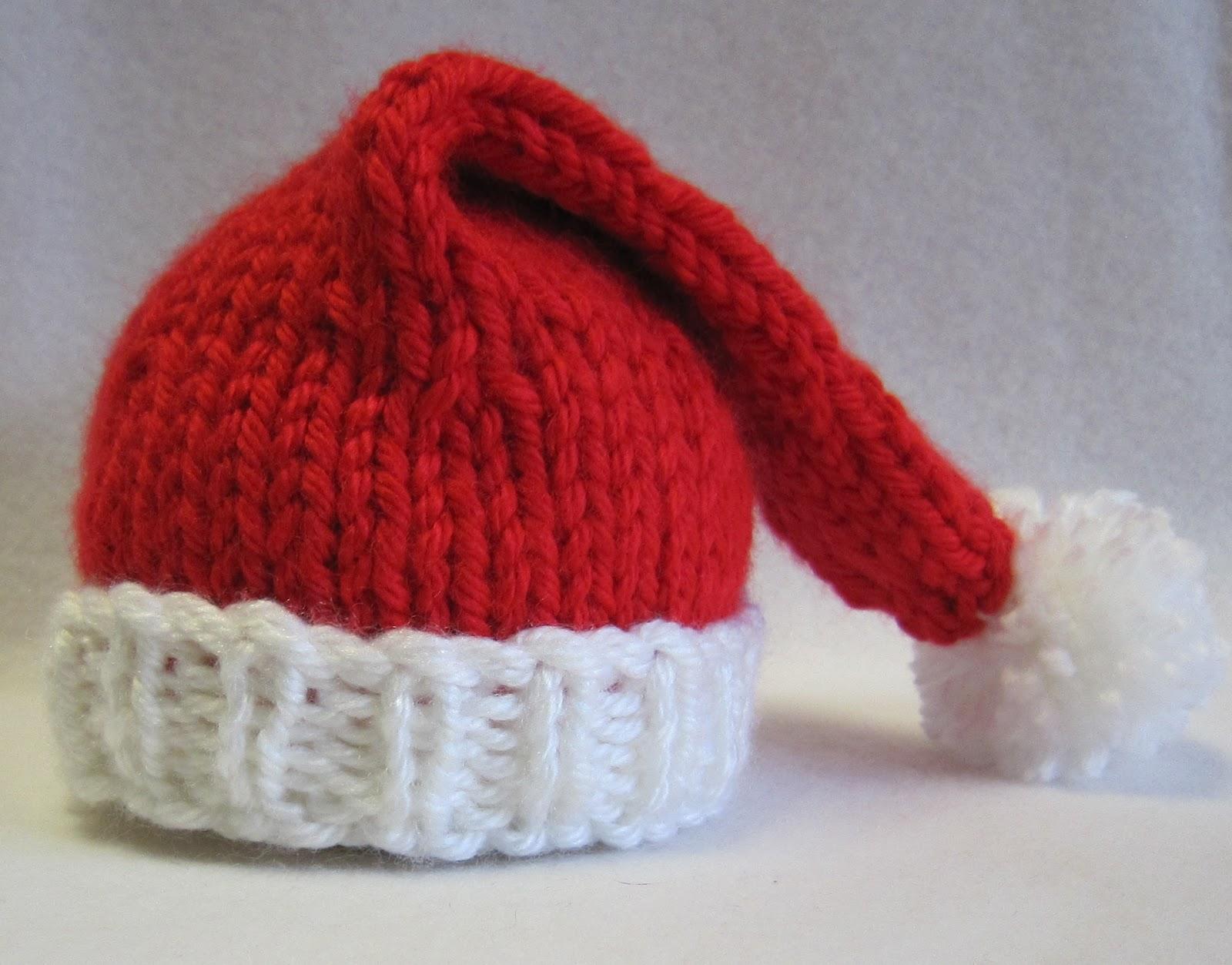 Tricoter un bonnet de pere noel - Idées de tricot gratuit dfe0d2f98d6