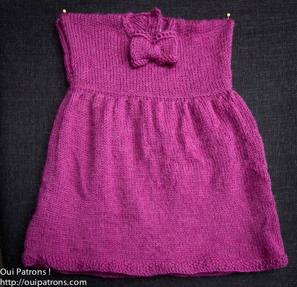 b356152c116513 Tricoter jupe fille - Idées de tricot gratuit