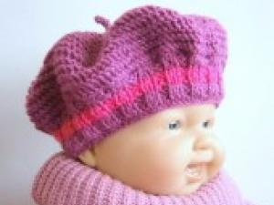 0c8444e349b5 Tricot bonnet fille 1 an - Idées de tricot gratuit