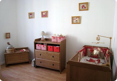 Merveilleux Chambre Bebe Ikea Bois