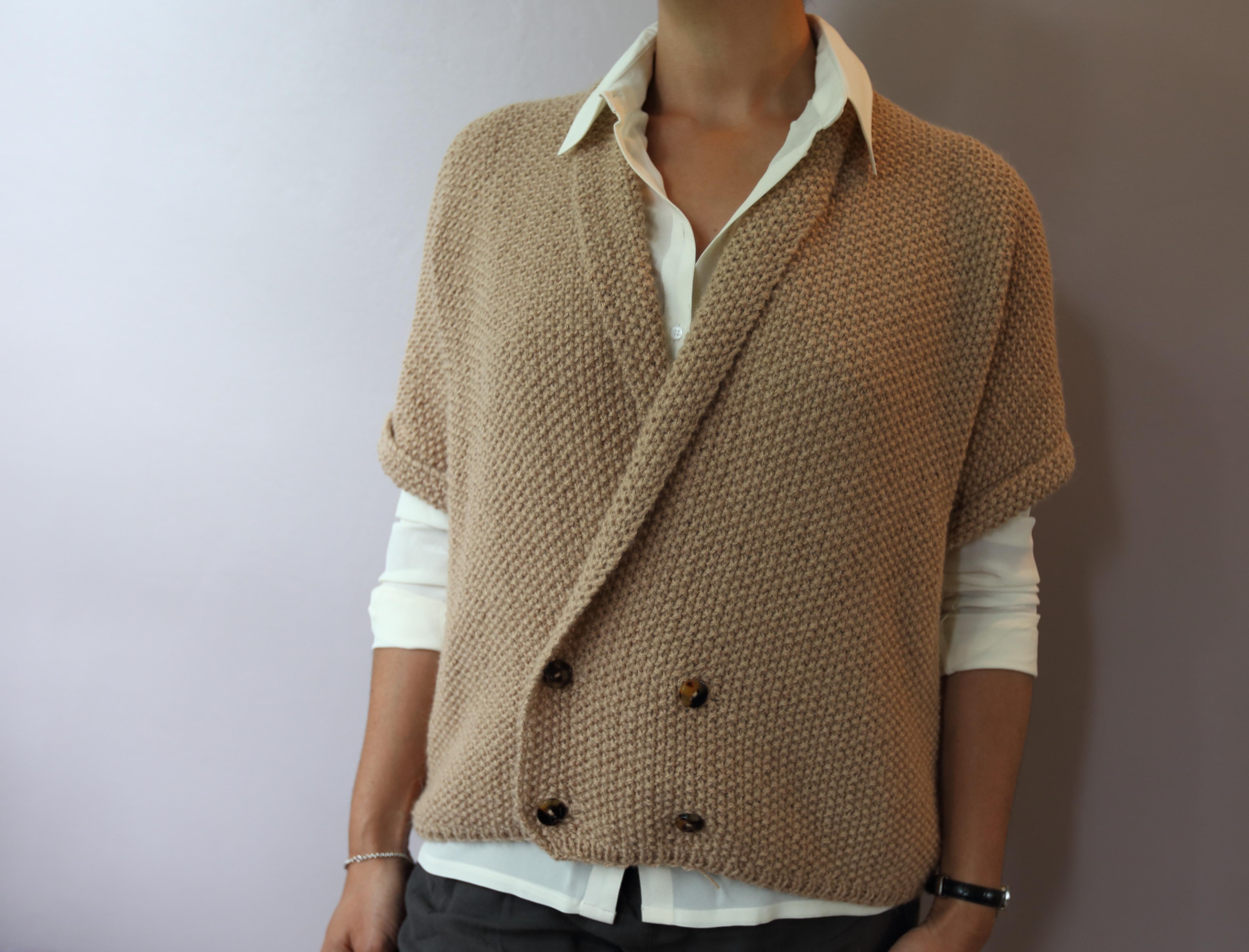 Modele gilet tricot aiguille 4
