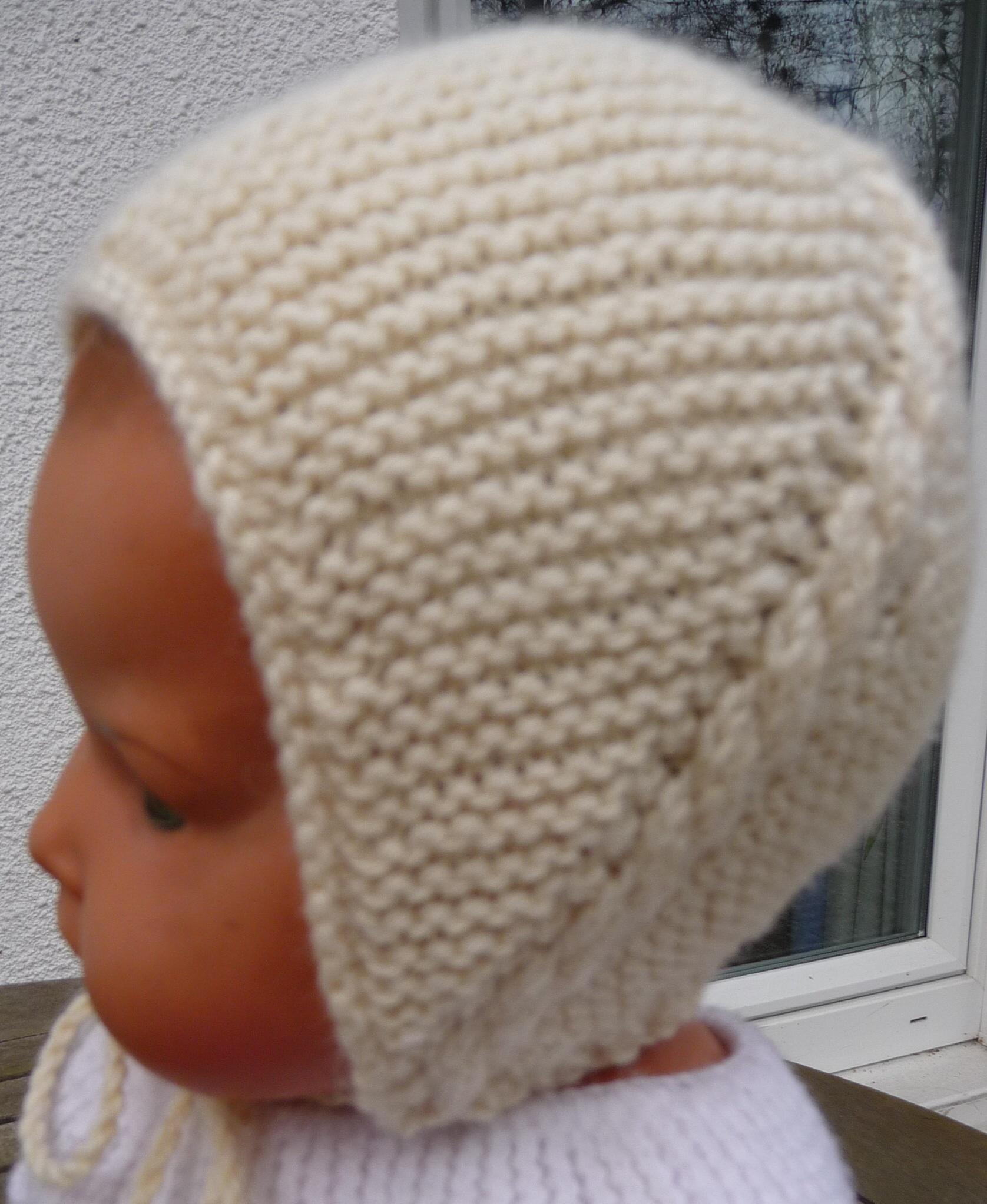 a31d2b542f52 Tricoter un bonnet de naissance gratuit - Idées de tricot gratuit
