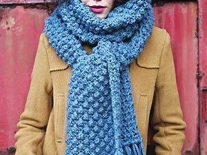 Apprendre tricoter une écharpe