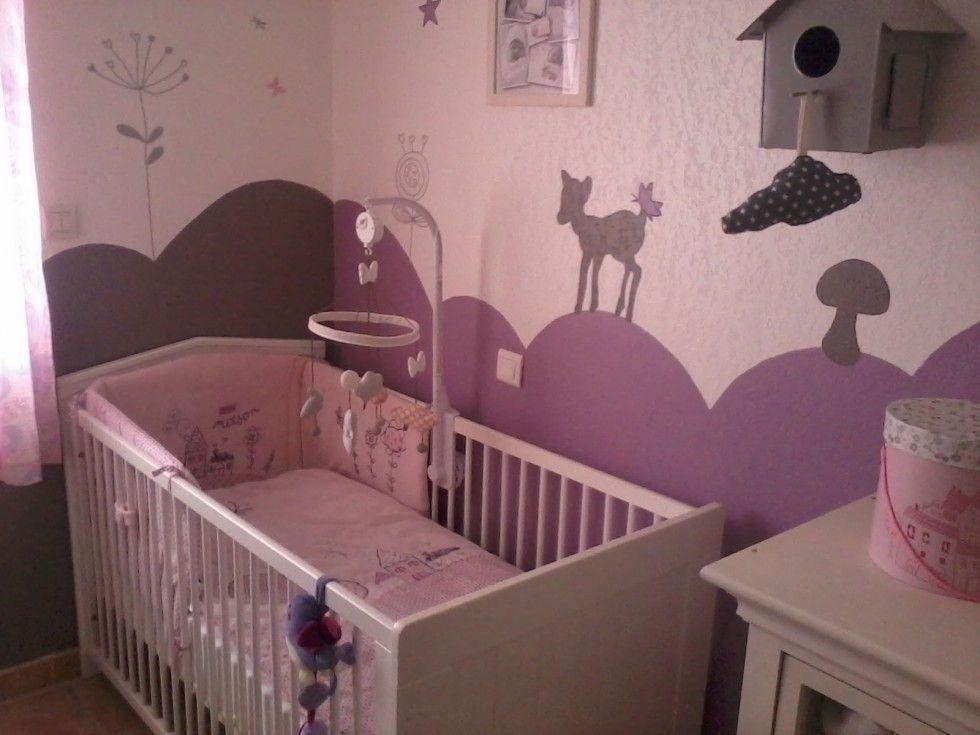 Chambre bébé fille mauve - Idées de tricot gratuit