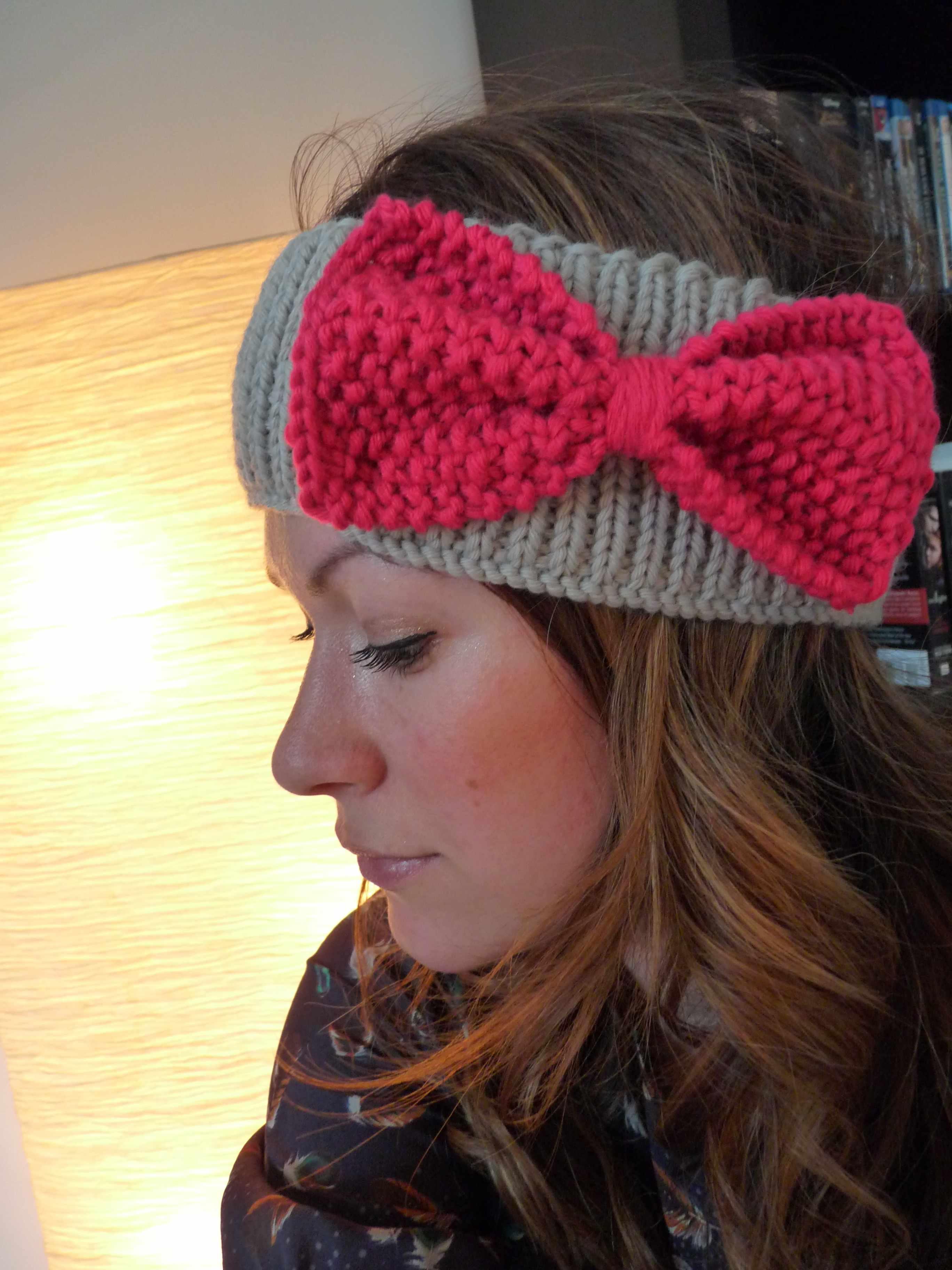 Modele tricot gratuit bandeau femme - Idées de tricot gratuit d8b13662505