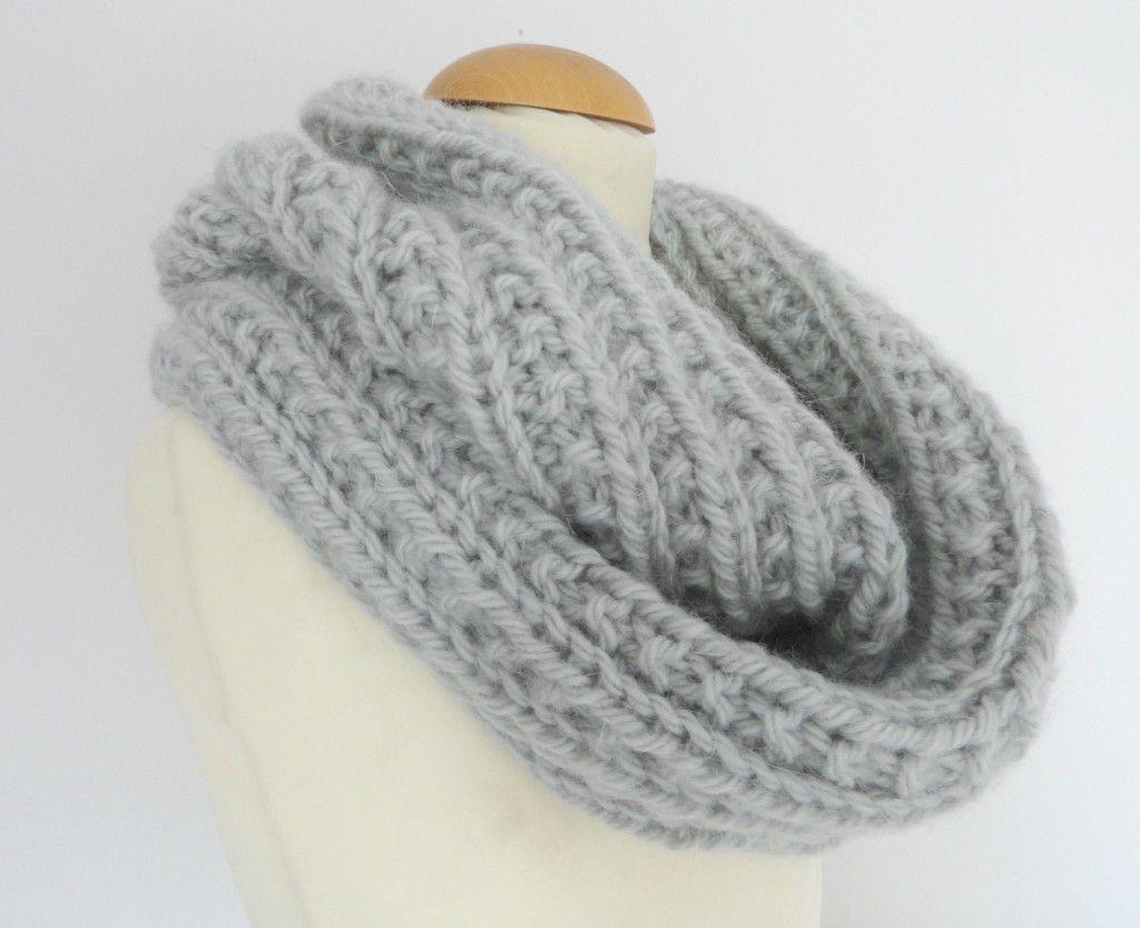 Tricoter un snood femme actuelle - Idées de tricot gratuit