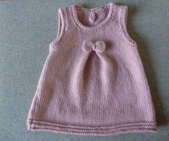 92ca81f80b9e6 Tricot facile robe - Idées de tricot gratuit