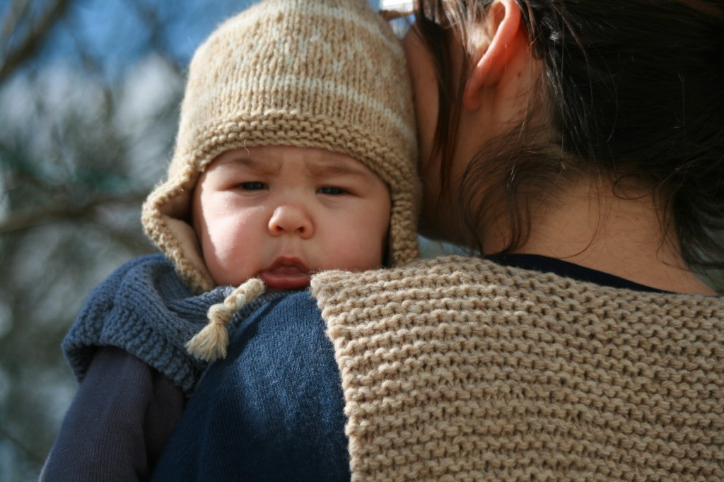 Tricoter un bonnet péruvien pour bébé - Idées de tricot gratuit a5868ae38ad