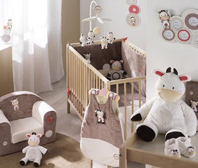 Belle chambre bébé mixte - Idées de tricot gratuit
