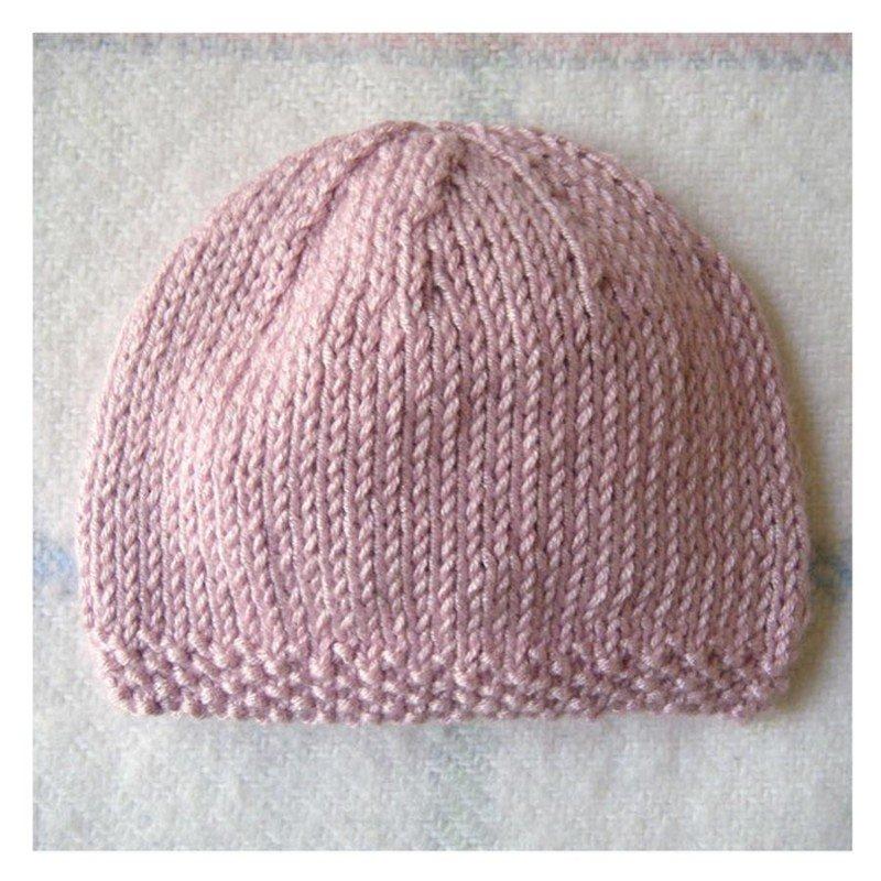 Tricoter un bonnet en laine pour bebe - Idées de tricot gratuit d87fea24615