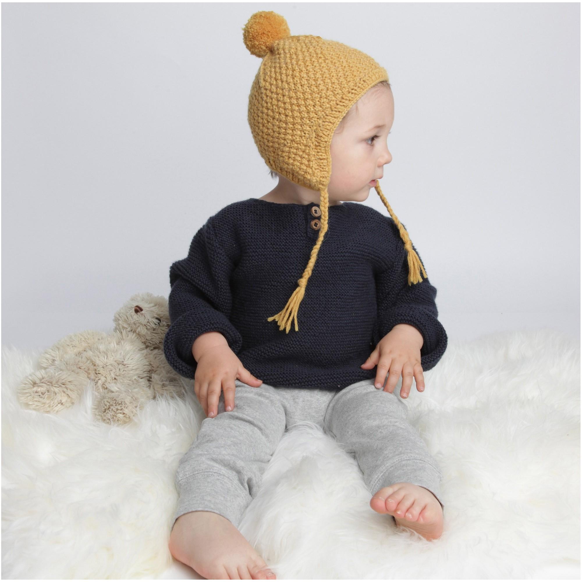 Tricot bonnet avec oreilles - Idées de tricot gratuit 7f807bb9aaa